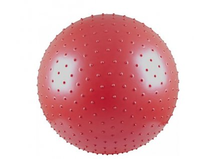 Sportwell Assort masážní míč 75 cm - ČERVENÝ