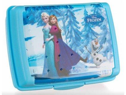 Banquet box svačinový Frozen 17 x 13 x 65 cm