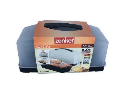 Zenker Forma na biskupský chléb + plastová dóza na pečivo 30 cm