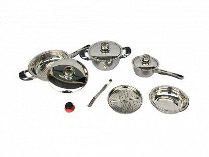 11-dílný set nádobí Eurobak SOLINGEN DESIGN