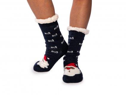 Vánoční ponožky s beránkem Santa