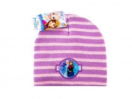 Frozen čepice dívčí růžová