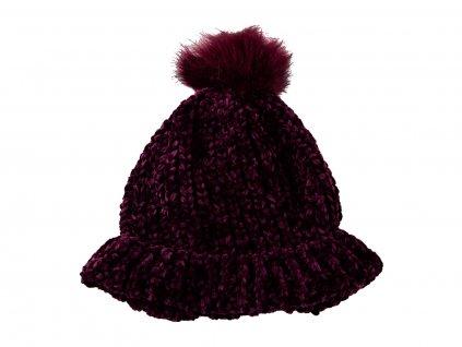 Dámská pletená zimní čepice Berreto
