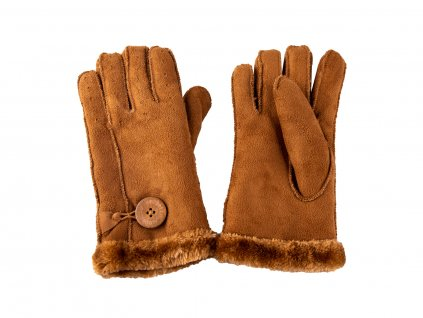 Zimní dámské rukavice Sorbetto s kožíškem