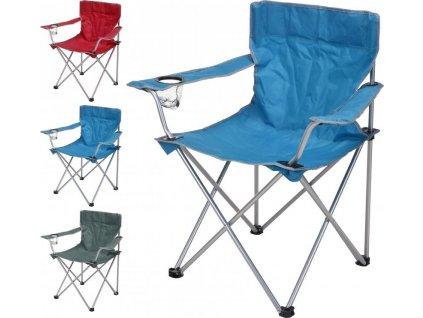 Skládací rybářská campingová židle RedCliffs COLOR 81x51x42 cm