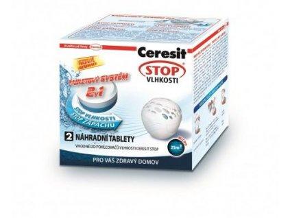 CERESIT Stop vlhkosti Micro náhradní tablety 2v1 2x300g