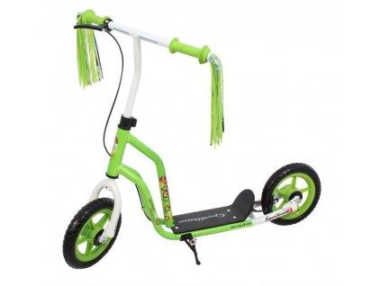 Koloběžka SportTeam FALCO zeleno-bílá