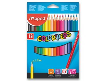 Maped 3218 Color'Peps 18 ks