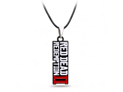 Game Red Dead 2 Redemption necklace Fashion Pendant metal choker necklaces for Men gifts accessories 2