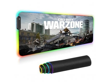 mainimage0Call Of Duty Warzone Large Mouse Pad RGB Gaming Gccessories Gamer Desk Mat Laptop LED Keyboard