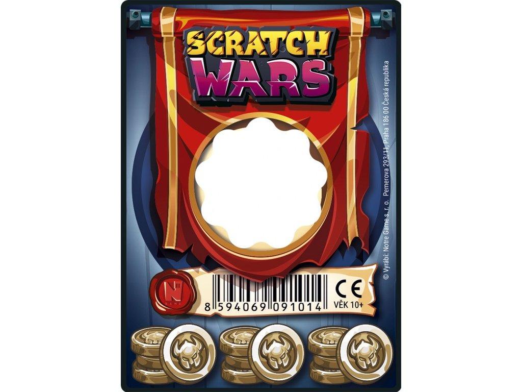 Scratch Wars – Karta zbraně