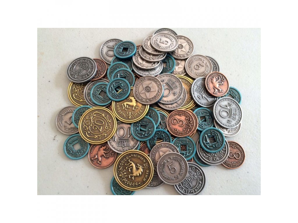 scythe metal coins upgrade pack