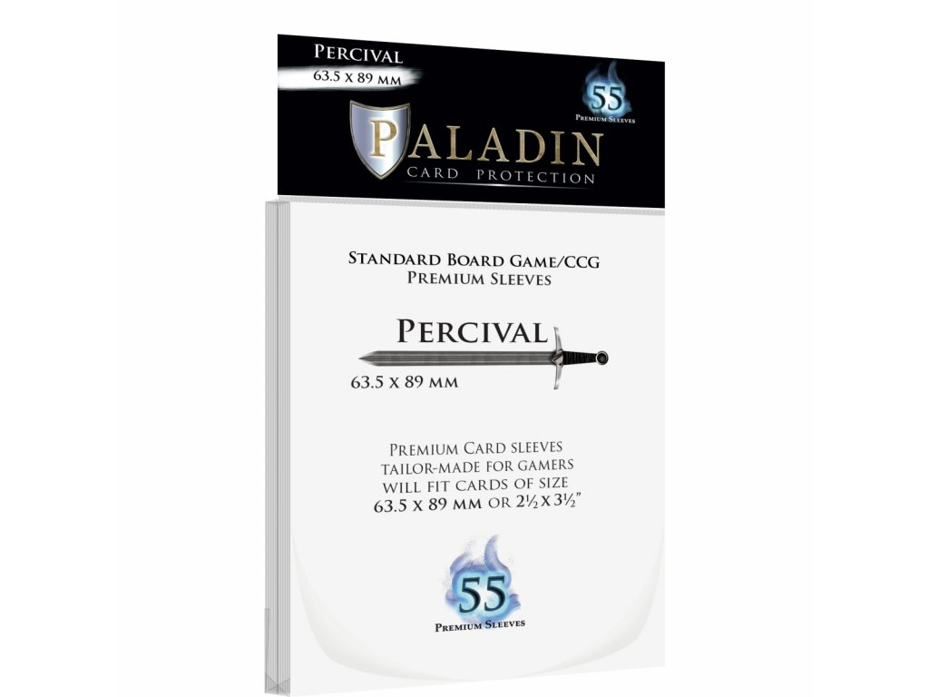Obaly Percival - 55x Standard Card Game (63,5x89mm)