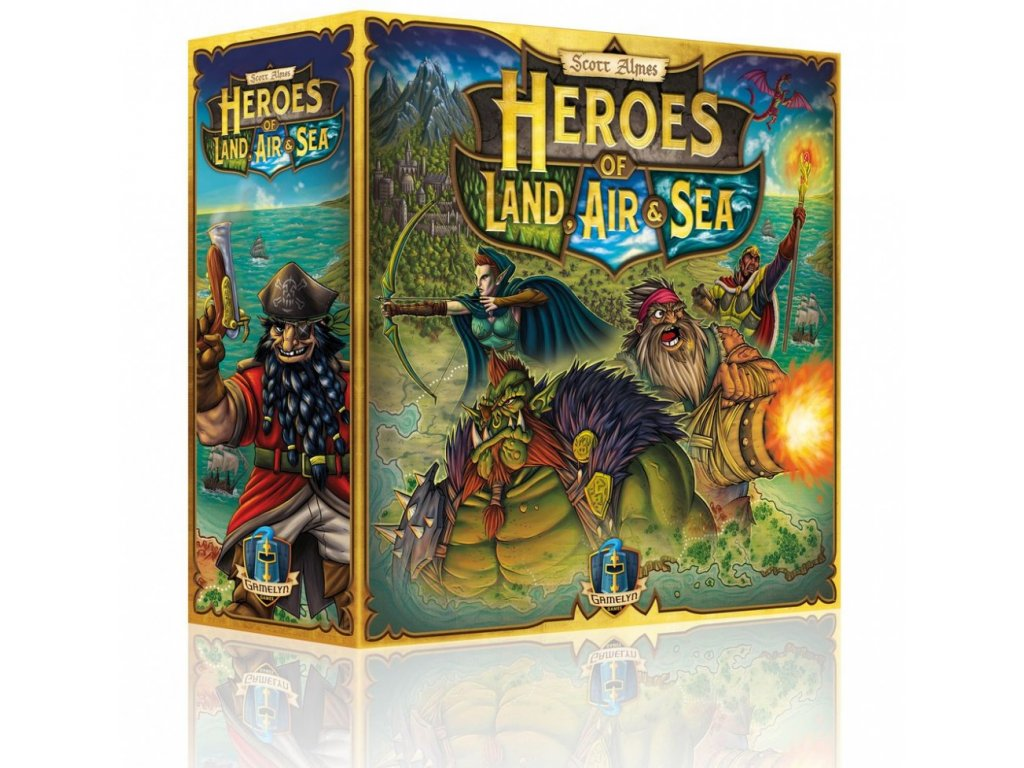 heroes of land air sea