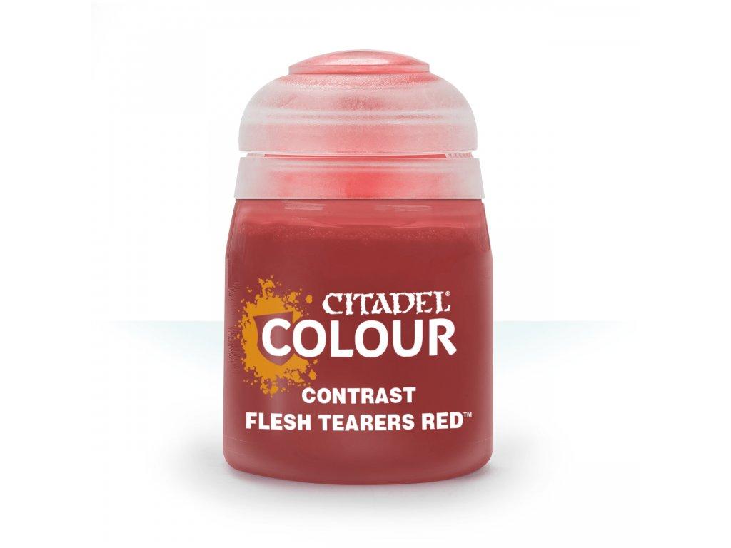 Contrast Flesh Tearers Red