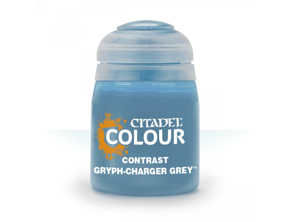 Contrast Gryph Charger Grey