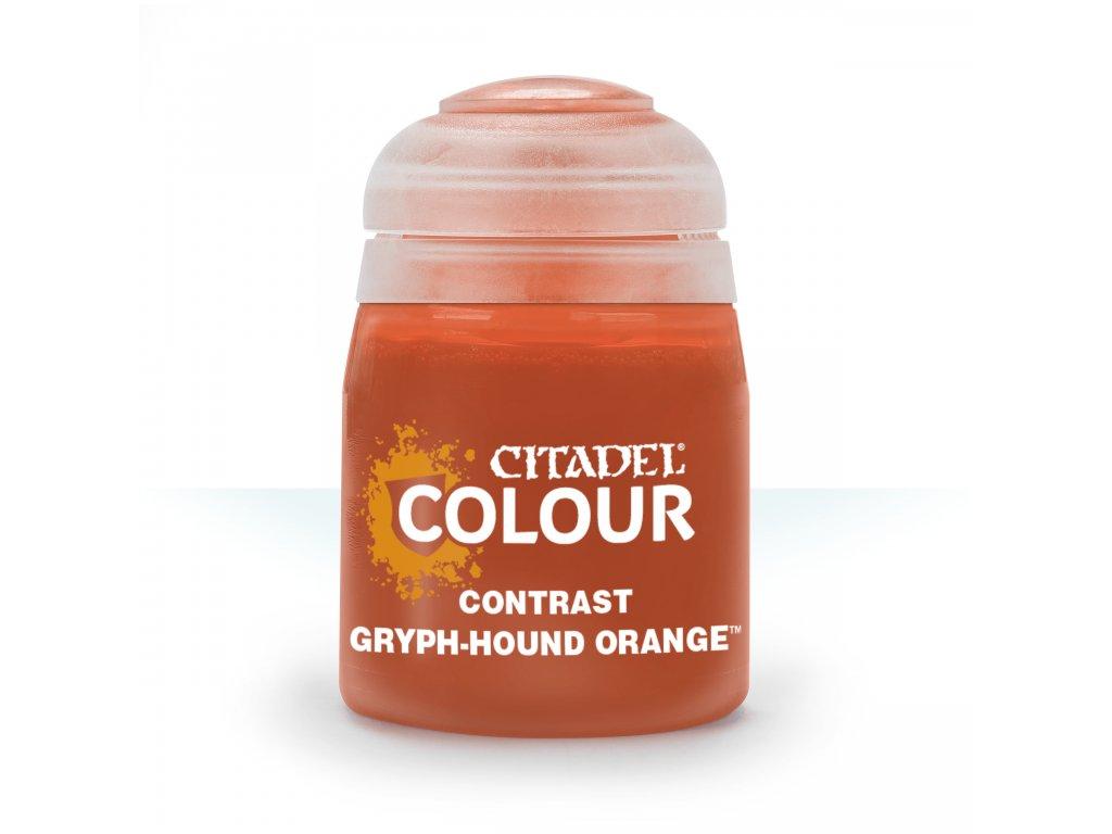 Contrast Gryph Hound Orange
