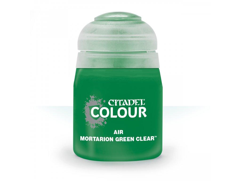Air Mortarion Green Clear