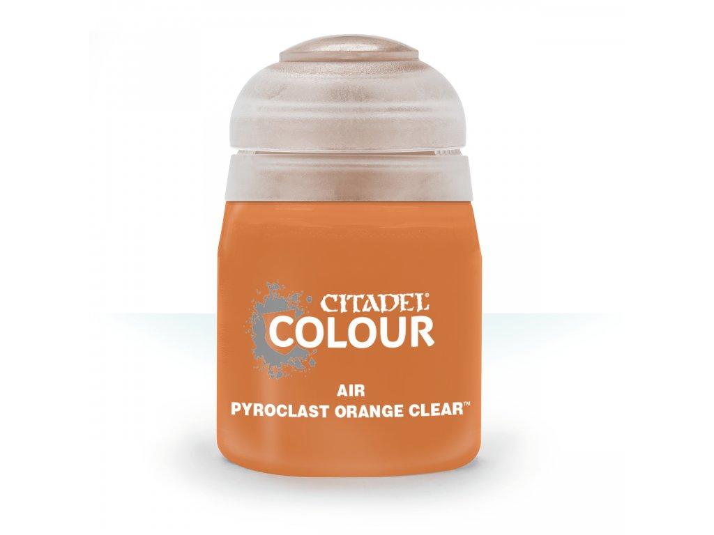 Air Pyroclast Orange Clear