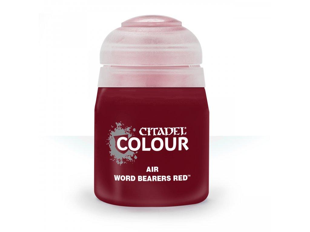 Air Word Bearers Red