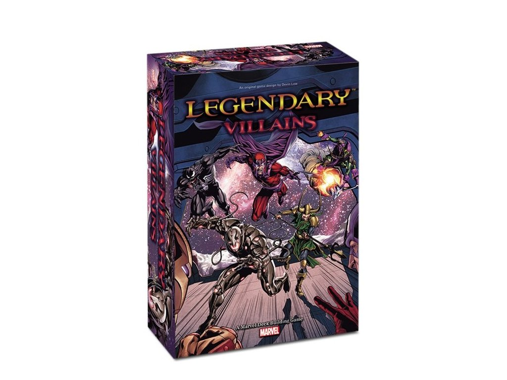 legendary villains a marvel deck building game