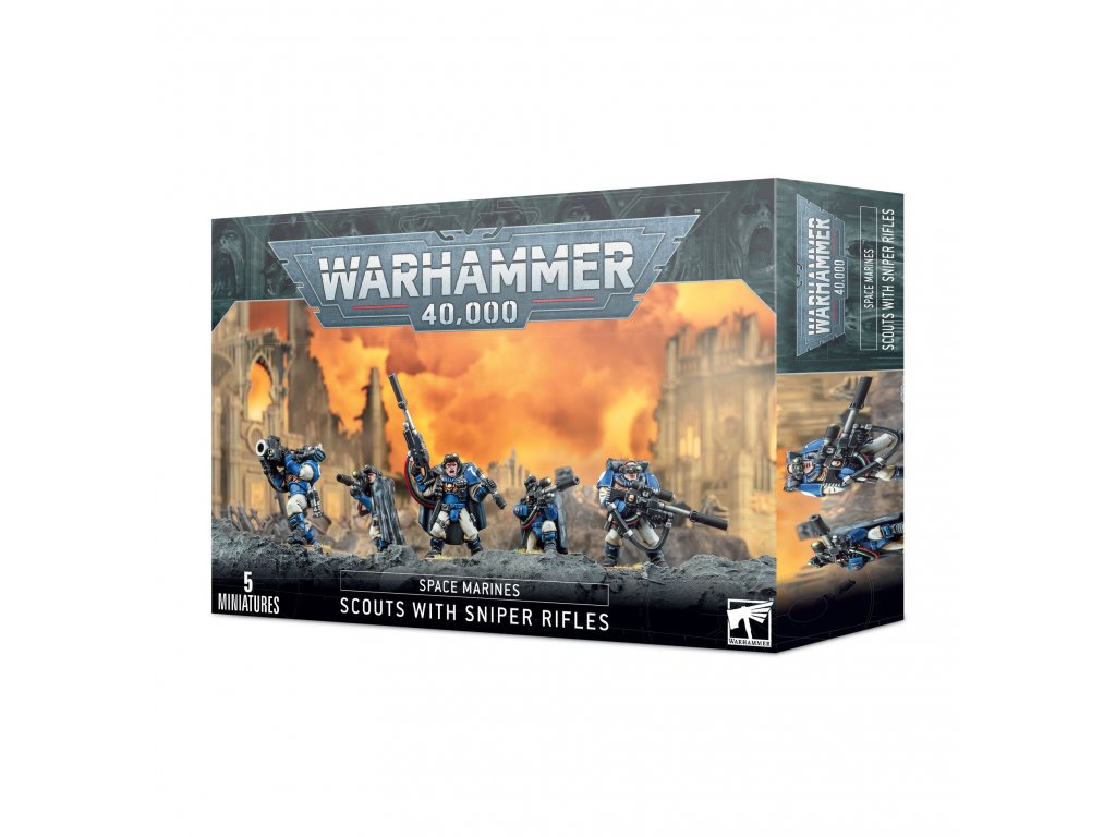 https trade.games workshop.com assets 2020 09 BSF 48 29 99120101248 Space Marines Scouts with Sniper Rifles