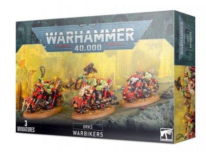 Ork Warbiker Mob 1
