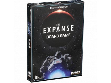 the expanse board game box