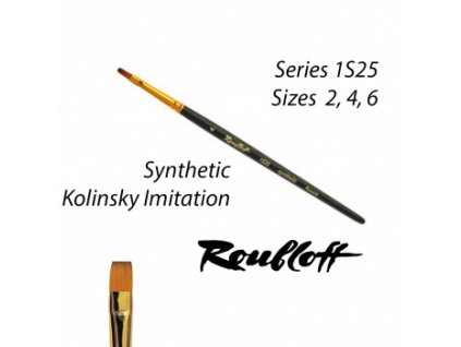 Roubloff Fine-Art Brush - 1S25-4 Drybrush regular
