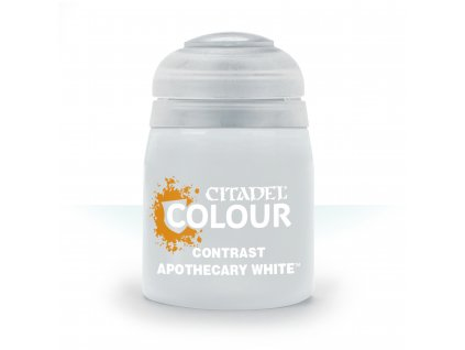 Contrast Apothecary White