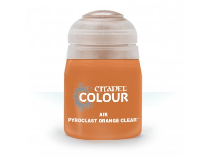 Air Pyroclast Orange Clear