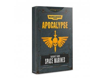 Space Marine datacards