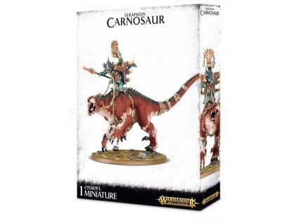 Saurus Scar-Veteran on Carnosaur / Saurus Oldblood On Carnosaur / Troglodon