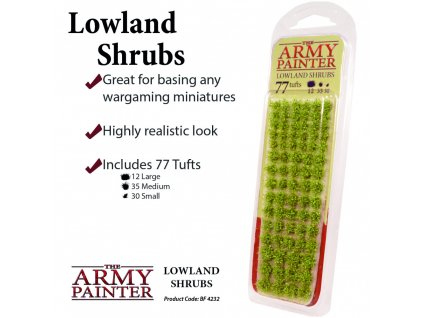 Army Painter Battlefields: Lowland Shrubs