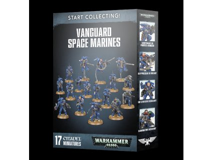 TR 99120101265 Start Collecting Vanguard Space Marines 1