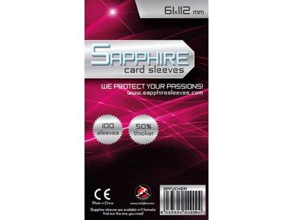 obaly na karty sapphire fuchsia 61 x 112 mm 100 ks