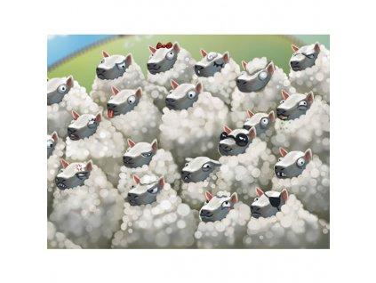 Hustá mela - Ovce (rozšíření)