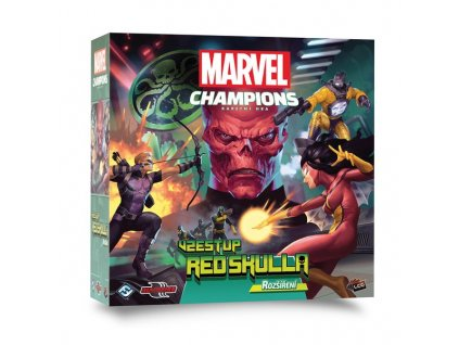 Marvel Champions: Vzestup Red Skulla