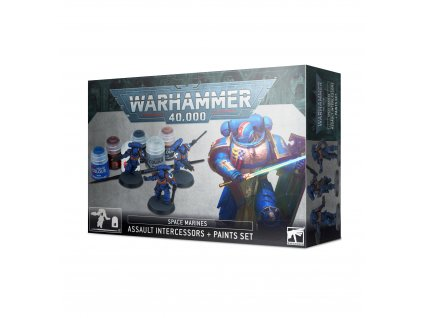 https trade.games workshop.com assets 2020 08 BSF 60 11 99170101012 Space Marines Assault Intercessors and Paint Set