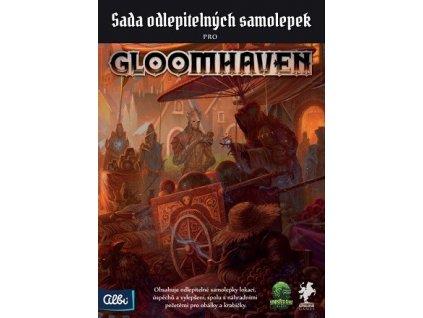 Gloomhaven odlepitelné samolepky