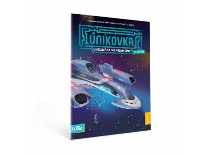 Kniha Vesmírné dobrodružství (únikovka junior)