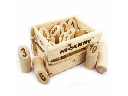Mölkky - Dřevěné kuželky