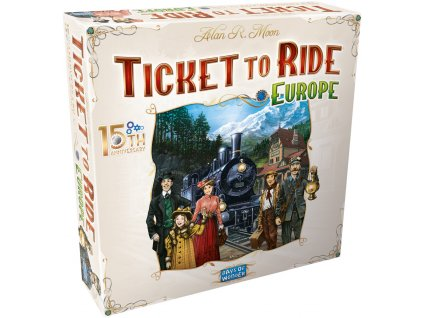 Ticket to Ride: Europe – 15th Anniversary - EN