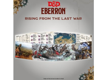 Dungeons & Dragons - Rising from the last war - Eberron DM Screen