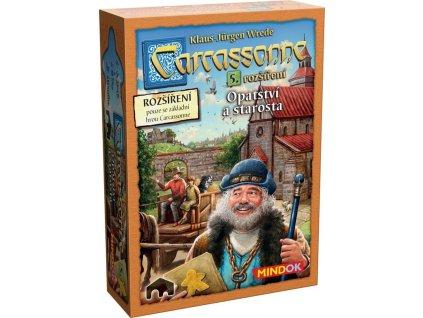Carcassonne: 5 Opatství a starosta