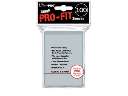 Ultra PRO Small PRO-Fit Sleeves (100 ks)