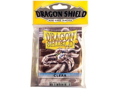 at 10101 dragon shield mini sleeves fifty clear 01 8d