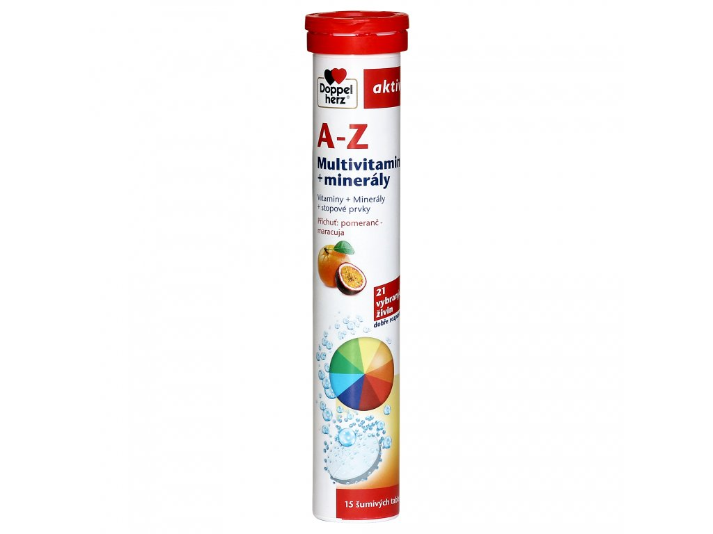 A Z Multivitamin sumive tablety