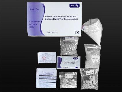 Realy Tech Sars-CoV-2 Antigen Rapid Test ze slin 20 ks