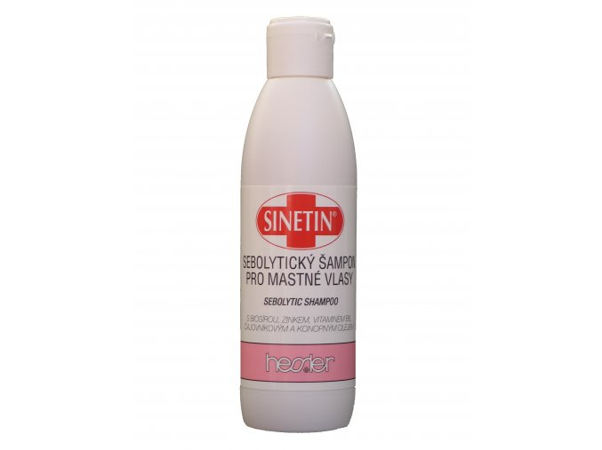 SINETIN Sebolytický šampon pro mastné vlasy